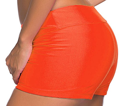 erdbeerloft - Shorts - para mujer naranja