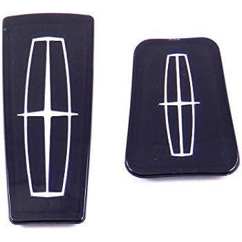 Lincoln Navigator Grille Emblem Front 98-02 logo Red New Badge Symbol 99 00 01