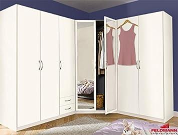 Eckschrank Kombination 331833 Kleiderschrank Schrank Sprint 3 Teilig