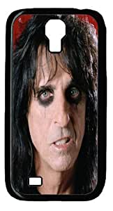 Alice Cooper Case for Samsung Galaxy S4 I9500 - Carrying Case - Black by runtopwell