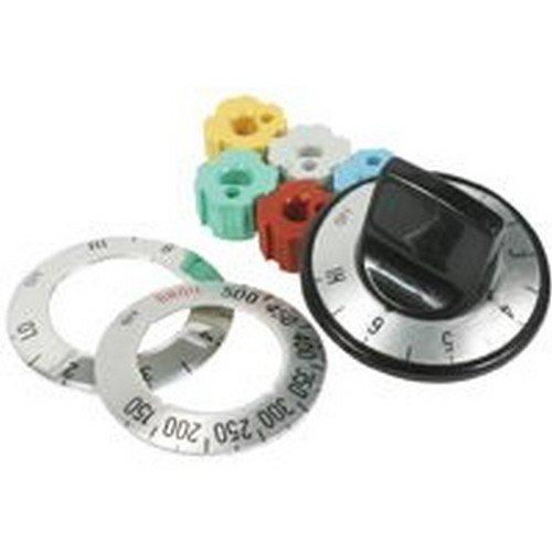 Black Elect Range Oven Knob ()