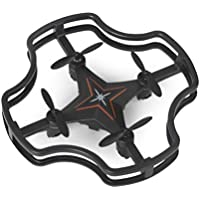 Mini Quadcopter,2.4G Mini 4CH 6-axis RC Quadcopter Drone 3D Flips Headless Mode Altitude Hold By Dacawin (Black)