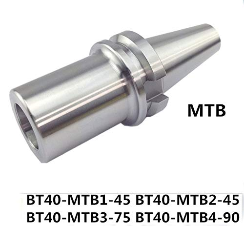 FINCOS BT40 MTB1 MTB2 MTB3 MTB4 Shell End Mill Arbor Tool Holder Morse Taper Chucks Shell End Mill Arbor - (Angle: BT40 MTB2 50L)