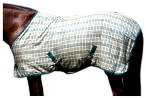 Hunter Green Plaid 78-Inch Hunter Green Plaid 78-Inch High Spirit Horseman's Plaid Cotton Sheet