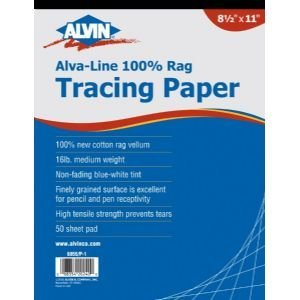 3 Pack PAPR TRAC 12X18 50/SHT PAD Drafting, Engineering, Art (General Catalog) by Alvin by Alvin