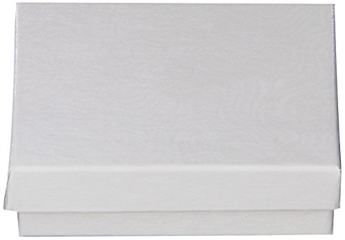 The Best Boxes in The Business White Swirl Jewelry Boxes, 3x2-1/8x1-inches, 100 Boxes (#6 White Swirl Embossed Jewelry Boxes)