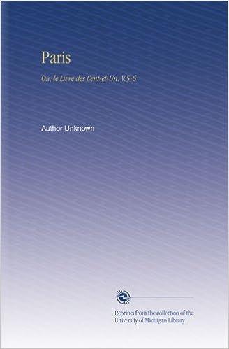 Livre Paris: Ou, le Livre des Cent-et-Un. V.5-6 pdf ebook
