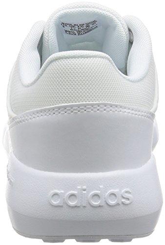 adidas Cloudfoam Race, Zapatillas de Deporte para Hombre, Negro Blanco (Ftwbla / Ftwbla / Ftwbla)