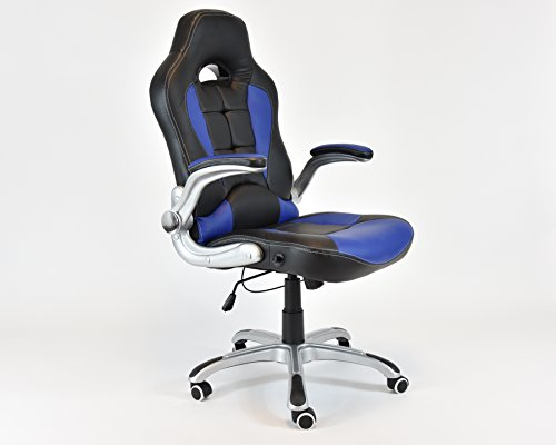 UPC 789296632538, Racing Style Swivel Chair Computer Desk Chair Lumbar Support Reclining Chair
