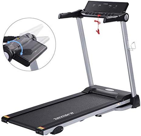 MaxKare Folding Treadmill Electric Motorized Running Machine