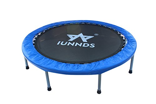 KLB Sport Indoor Foldable Trampoline for Age 8+, Fitness Trampoline for Adult (48