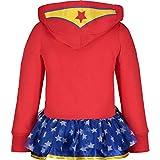 Warner Bros. Wonder Woman Toddler Girls' Full-Zip
