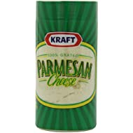 Kraft Grated Parmesan Cheese Canister, 8 Ounce