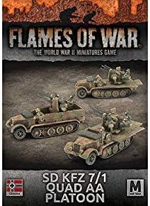 WWII *Flames Of War* Gale Force Nine FOW Mini Rulebook 2017