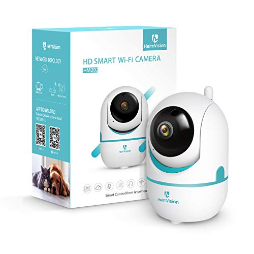 Heimvision HM202 1080P Wireless Security Camera with Smart Night Vision/PTZ/Two-Way Audio, 2.4Ghz WiFi Home Surveillance IP Camera for Baby/Elder/Pet/Nanny Monitor
