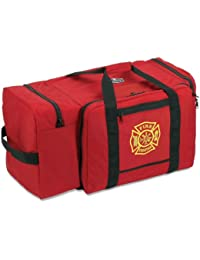 Arsenal 5005P Large Polyester Firefighter Rescue Turnout Fire Gear Bag with Shoulder Strap and Helmet Pocket