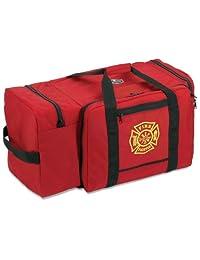 Ergodyne Arsenal 5005P Large Polyester Firefighter Rescue Turnout Fire Gear Bag with Shoulder Strap and Helmet Pocket