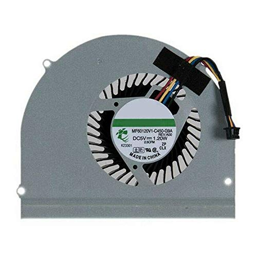 Laptop CPU Cooling Fan for DELL Latitude E6530 P19F MF60120V1-C450-G9A DC5V 1.20W New and Original