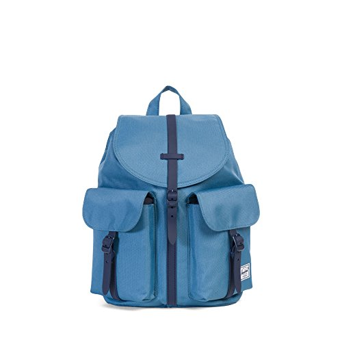 Peacoat Tan blau Herschel Leather blau Synthetic Dawson X Small qtgwt