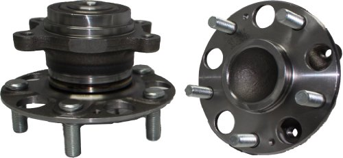 Brand New (Both) Rear Wheel Hub and Bearing Assembly for 2006-2011 Honda Civic SI & EX Only - [2006-2010 Acura CSX] -