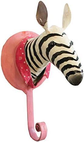 Garderobenhaken Metall Giraffe Kleiderhaken Wandhaken Garderobe Serie Wildlife