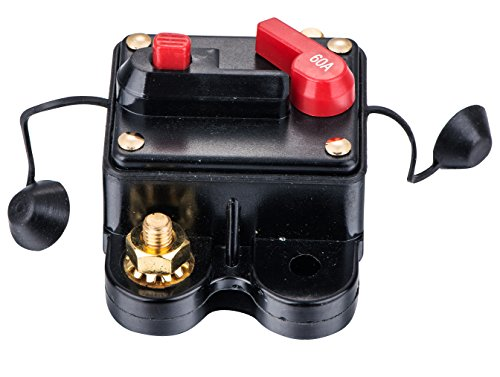 Car Audio Radio Inline Circuit Breaker Fuse For 12V Protection 01-60A