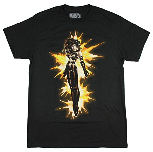 Marvel X-Men Mens' Age of Apocalypse Phoenix T-Shirt (Large)