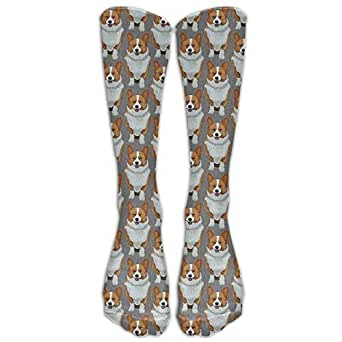 Amazon.com: PIHJE Socks Long 50cm Snowy Owl In Winter Tube