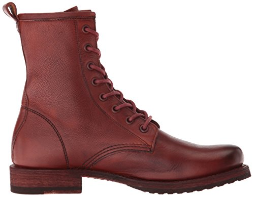 Red Veronica FRYE Clay Combat Ankle Women's Boot nZ161qXx