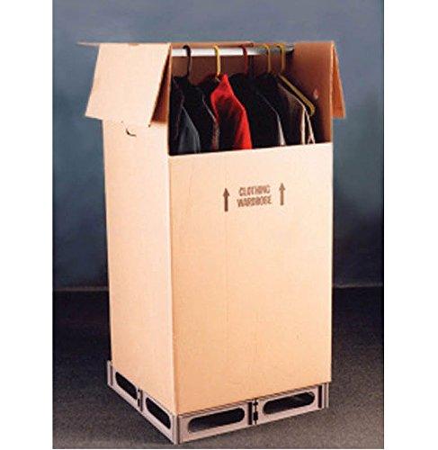 Hi & Dri palé de almacenamiento (Tamaño Grande Grid Kit) (Marrón) (3,5