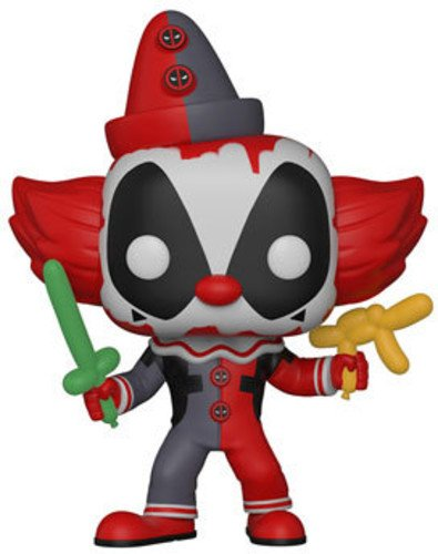Funko Pop Marvel Playtime-Deadpool Clown Collectible Figure,