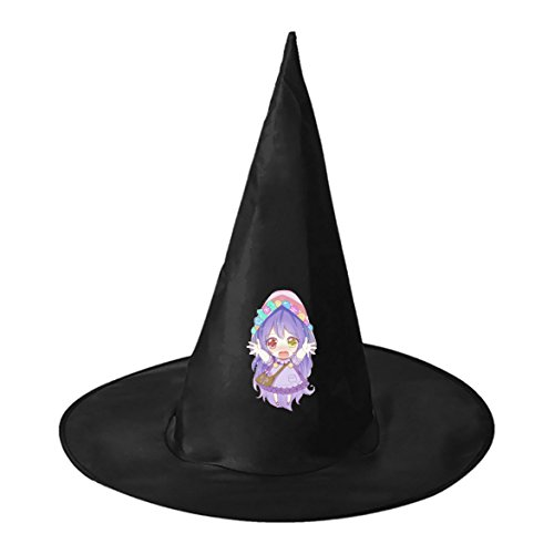 Unique Homemade Halloween Costume Ideas For Adults (Cute Cartoon Girl Mage Conical Cosplay Witch Hat to Halloween Costume Ball for Unisex Kids Adults)