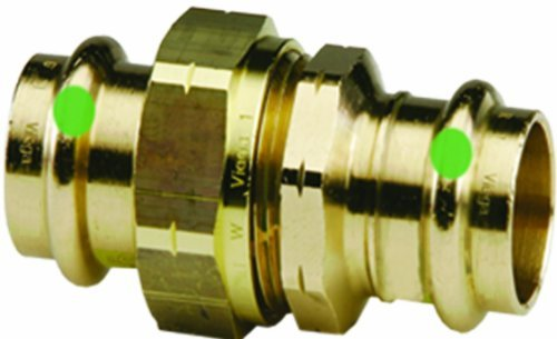 Viega 79140 ProPress Zero Lead Bronze Union with 1-1/4-Inch P x P by Viega Propress