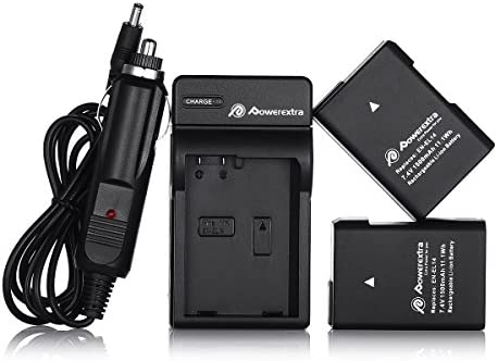 Powerextra EN-EL14 EN-EL14a 2 x Battery & Car Charger Compatible with Nikon D3100 D3200 D3300 D3400 D3500 D5100 D5200 D5300 D5500 D5600 P7000 P7100 P7200 P7700 P7800 DSLR Cameras - 10144335 , B00T9LGHPS , 285_B00T9LGHPS , 974005 , Powerextra-EN-EL14-EN-EL14a-2-x-Battery-Car-Charger-Compatible-with-Nikon-D3100-D3200-D3300-D3400-D3500-D5100-D5200-D5300-D5500-D5600-P7000-P7100-P7200-P7700-P7800-DSLR-Cameras-285_B00T9LGHPS , fado.v