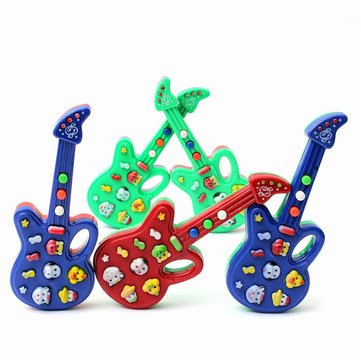 Electric Guitar Toy - Guitar Instrument Toy - Fantastic Child Baby Kids Electronic Guitar Sound Rhyme Developmental Music Toy (Kids Toy Electric Guitar) -