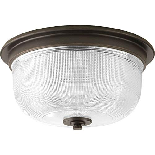 (Progress Lighting P3740-74 Med Flush Mount,)