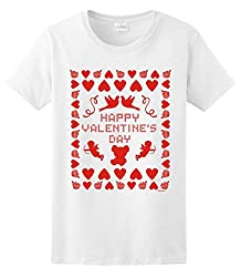 Ugly Valentines Day Sweater Ladies T-Shirt