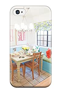 Tina Chewning's Shop 4825959K87987914 For Blue Breakfast Nook In Kitchen Protective Case Cover Skin/iphone 4/4s Case Cover
