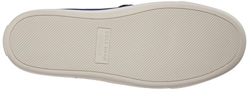 Cole Haan Womens Bowie Slip-on Fashion Sneaker Bristol Blue Perforated Textile sGVRoZ04aq