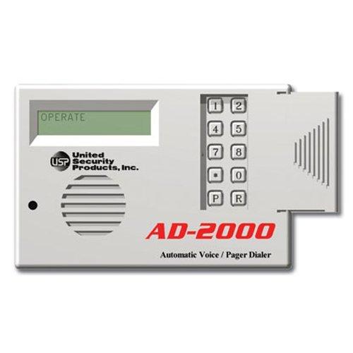 USP Automatic Voice Dialer AD2000 4 Messages