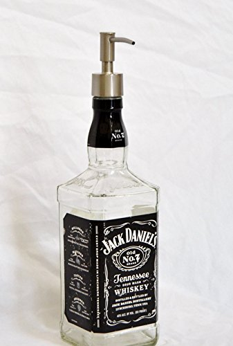 Jack Daniels Whiskey Liquor Bottle Repurposed Soap, used for sale  Delivered anywhere in USA