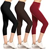 Leggings Depot High Waisted Leggings -Soft & Slim – Solid Colors & 1000+ Prints