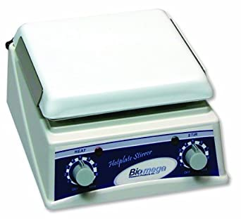 "Benchmark Scientific H4000-HS Ceramic Hot Plate and Magnetic Stirrer with Support Rod, 7.5"" x 7.5"" Platform, 120V"