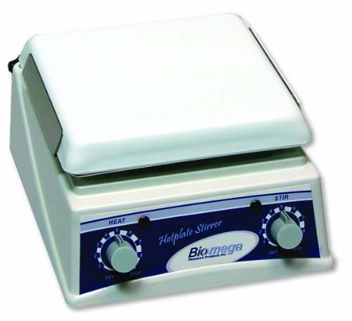 Benchmark Scientific H4000-HS Ceramic Hot Plate and Magnetic Stirrer with Support Rod, 7.5