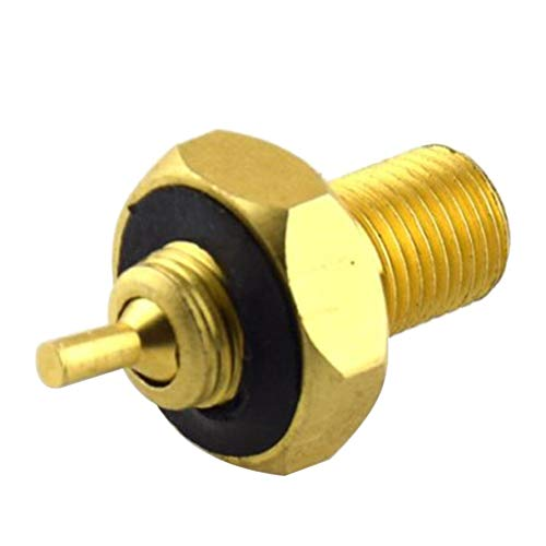 HoganeyVan Mini Design Tyre Valve Adapter Reducer Cap Truck Loader Earth Mover Truck Wheel Copper Tire Converter