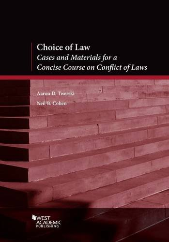 Choice Of Law:Cs.+Mtrl.F/Concise...