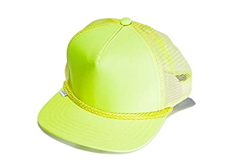 08497db7b8121e Image Unavailable. Image not available for. Color: Coal The Arnie Trucker  Hat Neon Yellow
