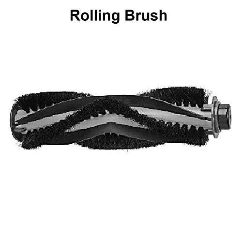 Robot Vacuum Cleaner Replacement Kit, 2pcs Side Brush, 1pcs Sponge Filter, 1pcs Rolling Brush