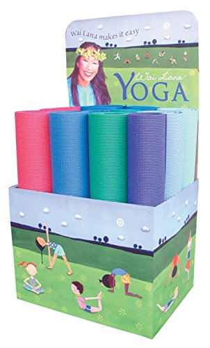 Wai Kit Yoga Foam Lana (Sportime Wai Lana Yoga Mat, 68 x 24 Inches)