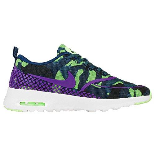 Nike Femmes Wmns Air Max Thea Jcrd Prm   Sarcelle  Prm  Vif Violetfantôme e8881d